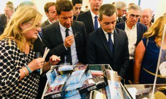 L'Union des fabricants pour la protection internationale de la propriété intellectuelle lance à Cannes sa campagne estivale sur les plages pour lutter contre la contrefaçon