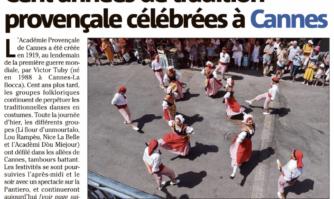 Cent années de tradition provençale célébrées à Cannes