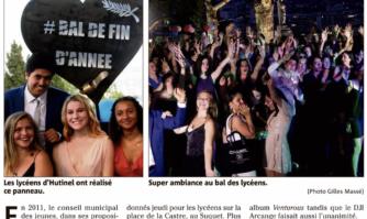 Plus de 300 lycéens réunis au bal des promos du Suquet