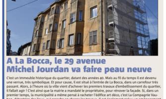 À La Bocca, le 29 avenue Michel Jourdan va faire peau neuve