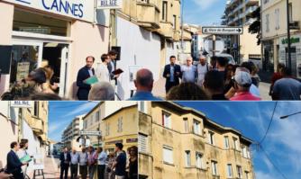 Rénovation de la façade du numéro 29 Michel Jourdan après une injonction municipale au propriétaire