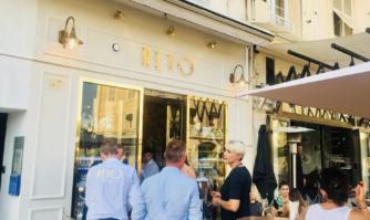 Inauguration d'un nouveau commerce rue Félix Faure