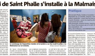 Niki de Saint Phalle s'installe à la Malmaison