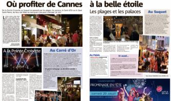 Où profiter de Cannes à la belle étoile