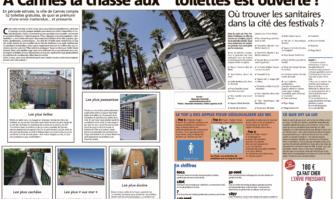 À Cannes la chasse aux toilettes est ouverte ! Où trouver les sanitaires dans la cité des festivals ?