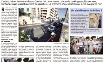 Avenue de Grasse : une entrée de ville bientôt liftée
