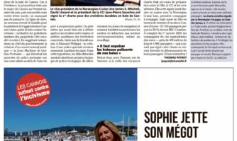 Première charte vertueuse entre la Mairie de Cannes et un croisiériste pour limiter la pollution