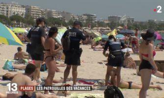 Vacances : l'exemple cannois de la Brigade des plages