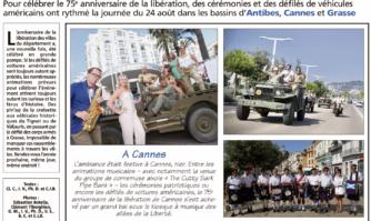 75e anniversaire de la Libération de Cannes