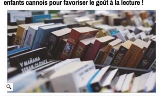 La Mairie de Cannes offre un trousseau de 6 livres aux enfants cannois pour favoriser le goût à la lecture !