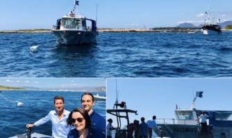 Inauguration de 4 bouées d'amarrage écologiques, un nouveau pas dans la protection de l'environnement en baie de Cannes