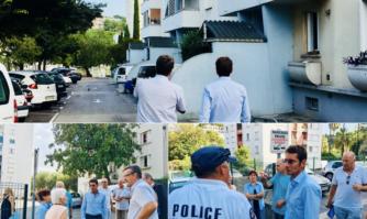 Temps d'échanges spontanés aux côtés des habitants des résidences du RIOU