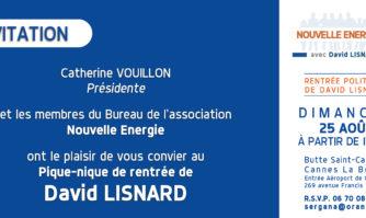 Dimanche 25 août : rejoignez-nous pour le grand pique-nique champêtre de rentrée de David Lisnard