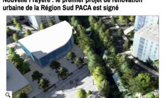 Nouvelle Frayère : le premier projet de rénovation urbaine de la Région Sud PACA est signé