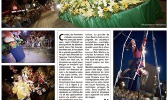 Parade fleurie de La Bocca : entre fleurs et musiques !