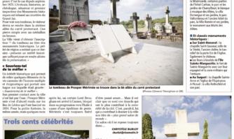 Le tombeau de Prosper Mérimée préservé