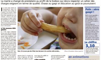 Rentrée scolaire à Cannes : du nouveau dans les assiettes