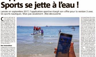L'application Cannes Sport se jette à l'eau