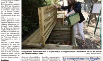 Le 1er site de compostage collectif s'implante au Petit-Juas