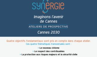 Agenda des Ateliers de prospective « Synergie » Cannes 2030