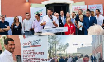 Une offre d'accompagnement entrepreneurial offensive et inédite pour pérenniser l'avenir économique du bassin de vie Cannes Lérins