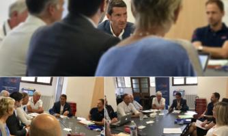 Cannes 2030 s'écrit aujourd'hui, David Lisnard était auprès des citoyens qui s'engagent pour l'avenir de Cannes