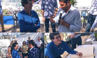 Lutte contre la pollution marine : un combat que partagent David Lisnard et Isabelle Autissier, Présidente de WWF France