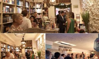 Inauguration des nouveaux locaux d'une libraire : le commerce de proximité prospère à Cannes