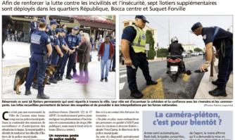 Sécurité et proximité : davantage de police municipale dans les quartiers pour lutter contre les incivilités et l'insécurité