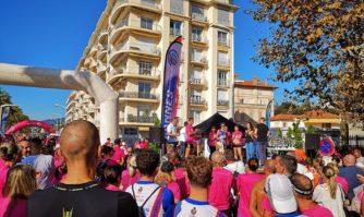 Capitale du Sport en Plein Air : Cannes court contre le cancer du sein