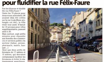 Des nouvelles places de livraison et arrêts minute créés dans le centre-ville de Cannes