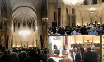 Messe en hommage à Jacques Chirac à Notre-Dame de Bon Voyage