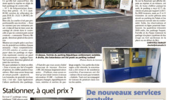 Parkings municipaux : 10% de clients en plus