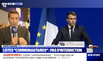 David Lisnard, Maire de Cannes et Vice-Président de l'Association des Maires de France était sur BFM en direct du Congrès des Maires de France