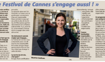 Le Festival de Cannes s'engage aussi !