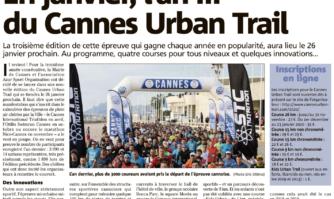 En janvier, l'an III du Cannes Urban Trail