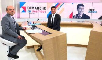 Média : David Lisnard invité de Dimanche en Politique sur France 3