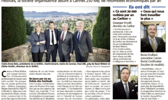 Reed Midem resigne : 1,25 milliard pour Cannes