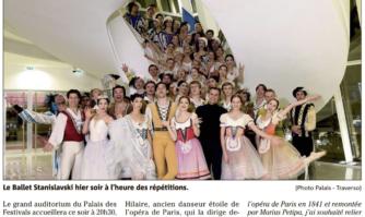Festival de danse : le Ballet Stanislavski entre en scène