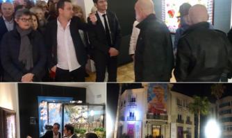 Culture : vernissage de l'exposition « Pierre et Gilles, le goût du cinéma »