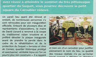 Le Square du Caroubier rénové et inauguré