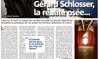 Gérard Schlosser, la réalité osée...