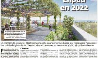 Un nouvel EHPAD en 2022