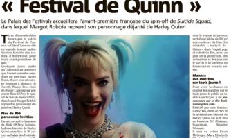 L'avant-première française du spin-off de Suicide Squad aura lieu à Cannes, voici comment gagner des places