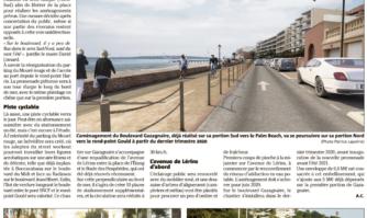 Rénovation du boulevard gazagnaire : acte 2 !