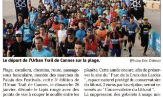 Urban trail de Cannes : la 3e édition arrive !