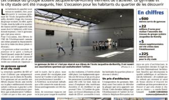 Le gymnase Romilly : un espace ouvert à tous