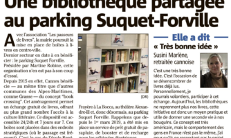 Une bibliothèque partagée au parking Suquet Forville