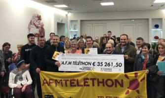 Solidarité : des Cannois toujours généreux pour le Téléthon