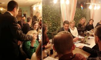 Proximité : moment convivial d'échanges pour David Lisnard et de nombreux acteurs culturels